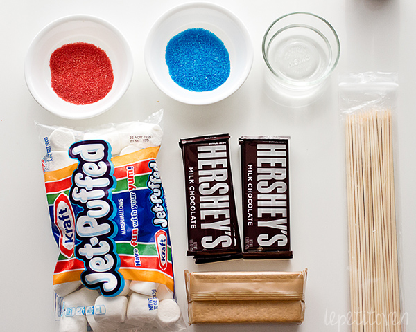 LePetitOven_4th_of_July_Smores_Bar_2